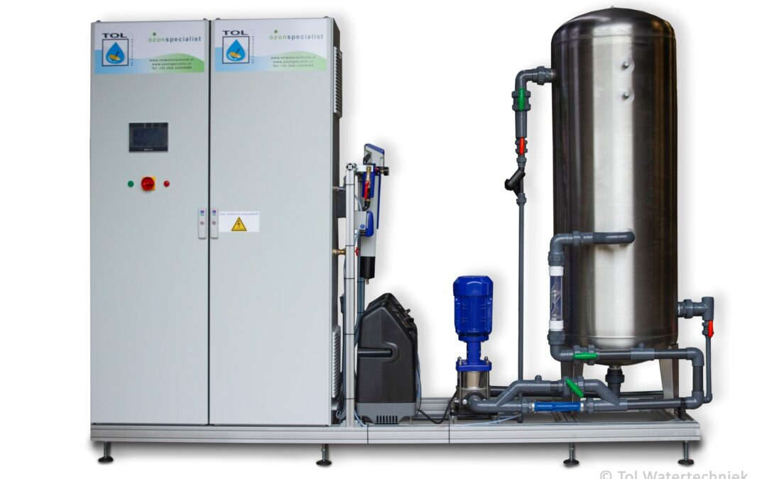 Ozonsysteem voor bollen broeierij
