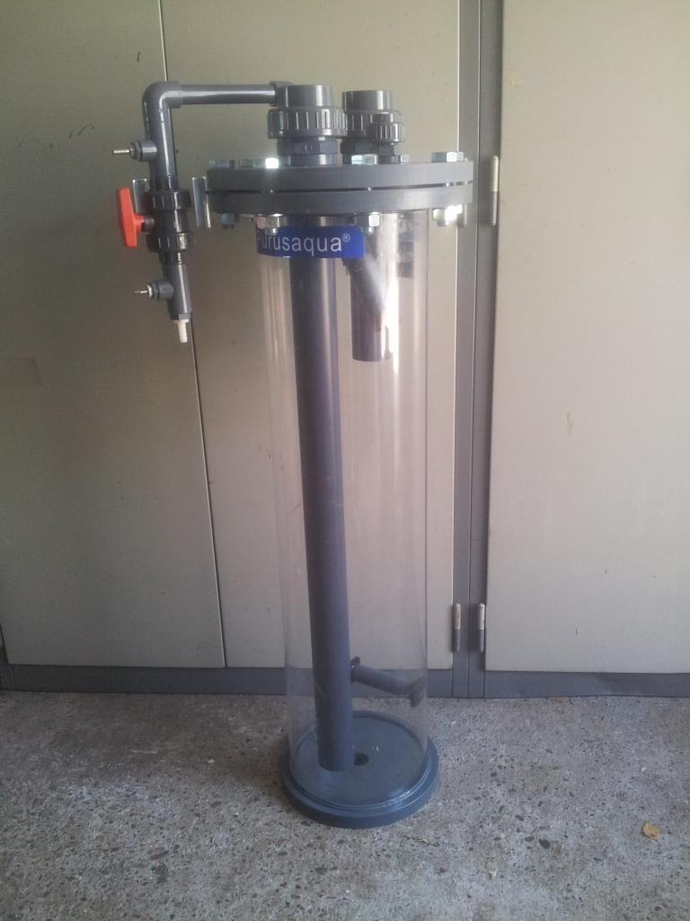 Ozonreactor laag model