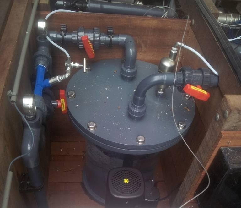 Ozonreactor speciaal deksel